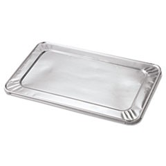 Steam Table Pan Foil Lid, Fits Full Size Pan, 20 13/16 x 12