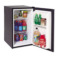 2.5 Cu.Ft Superconductor Refrigerator, Black