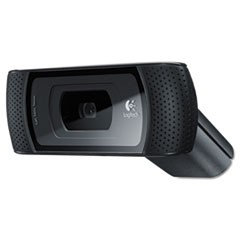 B910 HD Webcam, 720p, Black