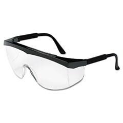 Blackjack Protective Eyewear, Chrome/Clear