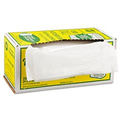 Industrial Strength Flex-O-Bags, 24 x 30, 13gal, 1.25mil, White, 150/Box