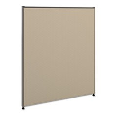 Vers� Office Panel, 36w x 42h, Gray