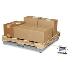 Electronic Shipping Scale, 5000lb Capacity, 48 x 48 Platform