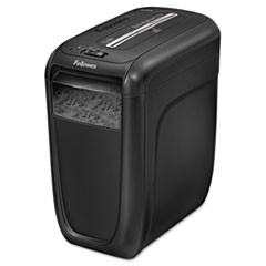 Fellowes Powershred 60Cs Cross-Cut Shredder, 10 Manual Sheet Capacity