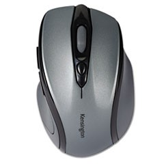 Pro Fit Mid-Size Wireless Mouse, 2.4 GHz Frequency/30 ft Wireless Range, Right Hand Use, Gray