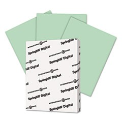 Digital Vellum Bristol Color Cover, 67 lb, 8 1/2 x 11, Green, 250 Sheets/Pack