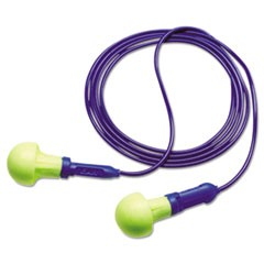 E-A-R Push-Ins Foam Earplugs, Corded