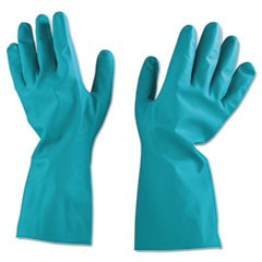 Unsupported Nitrile Gloves, Size 10