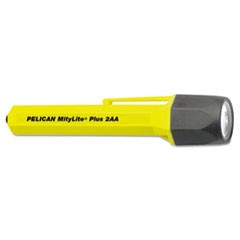MityLite 2340 Flashlight, 2 AA, Yellow