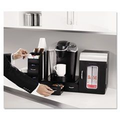"Breakroom Coffee Organizer, 23"" x 15 1/2"" x 15 1/2"""