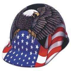 SuperEight Hard Cap, Thermoplastic, Spirit of America