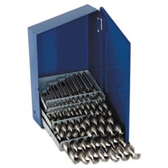 29-Piece High-Speed Steel Drill Bit Set, 3/8in Shank