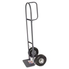"D-Handle Hand Truck, 10"" Pneumatic Tires"