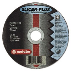 "SLICER-PLUS High-Performance Cutting Wheel, 4-1/2"" x .045 x 7/8"", Type 1, A60TX"