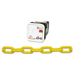 Plastic Chain, #8, 138ft, Yellow, Square Pail