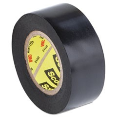 "Scotch 33+ Super Vinyl Electrical Tape, 0.75"" x 20 ft, Black"