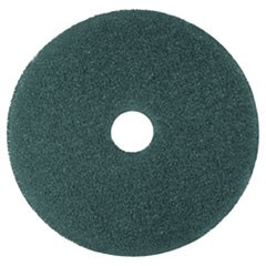 "Low-Speed High Productivity Floor Pads 5300, 16"" Diameter, Blue, 5/Carton"