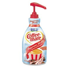 Liquid Coffee Creamer, Peppermint Mocha, 1500mL Pump Bottle