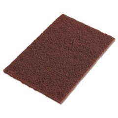 "Scotch-Brite Hand Pads, Brown, 9"" x 6"""