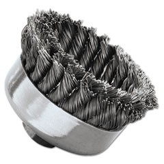 SR-4 General-Duty Knot Wire Cup Brush, .023
