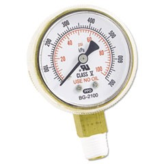 Replacement Gauge, 2 x 100, Brass
