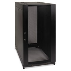 SmartRack Standard-Depth Rack Enclosure Cabinet, 25U, 3000 lbs Capacity, TAA