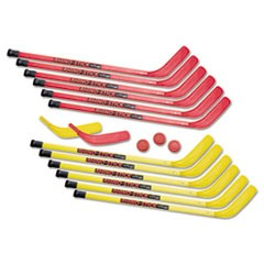 "Rhino Stick Elementary Hockey Set, 36"", Plastic"