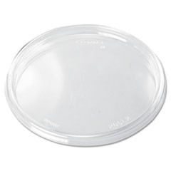 Plastic Lids, 6-32oz Cups, Clear, 100/Sleeve, 10 Sleeves/Carton