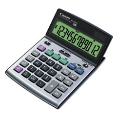 Canon Bs-1200Ts Desktop Calculator, 12-Digit Lcd Display
