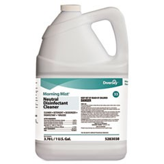 DIVERSEY MORNING MIST NEUTRAL DISINFECTANT CONCENTRATE 4 X 1