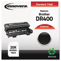Remanufactured DR400 Drum Cartridge, 20000 Page-Yield, Black