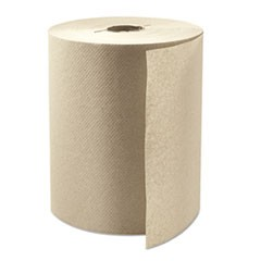 "Boardwalk Green Xtra Roll Towels, 8"" x 800 ft, Natural, 6/Carton"