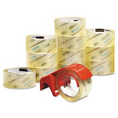 3750 Commercial Grade Packaging Tape with DP300 Dispenser, 3