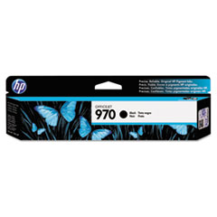 HP 970, (CN621AM) Black Original Ink Cartridge