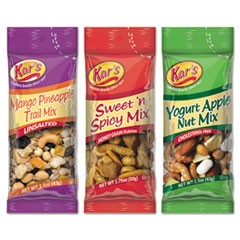 Trail Mix Variety Pack, Assorted Flavors, 24/Box