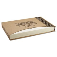 Grease-Proof Quilon Pan Liners, 16 3/8 x 24 3/8, White, 1000 Sheets/Carton