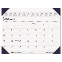 Executive Monthly Desk Pad Calendar, 24 x 19, 2016