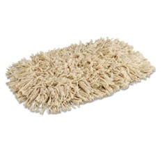 Mop Head, Dust, Cotton, 12 x 5, White