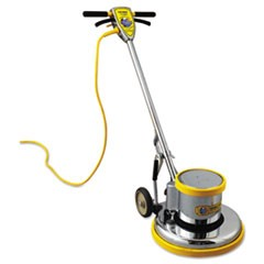 "PRO-175-17 Floor Machine, 1.5 HP, 175 RPM, 16"" Brush Diameter"