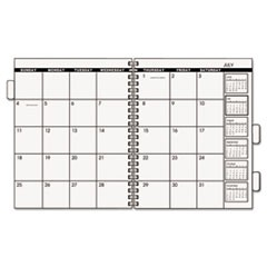 Three/Five-Year Monthly Planner Refill, 9 x 11, White, 2018