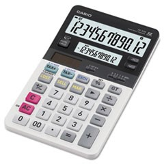 JV220 Dual Display Desktop Calculator, 12-Digit LCD