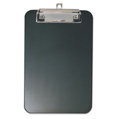 Officemateplastic Memo Clipboard, 1/2  Capacity, 6 X 9, Black