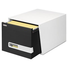STOR/DRAWER Premier Extra Space Savings Storage Drawers, Letter, Black, 5/Carton