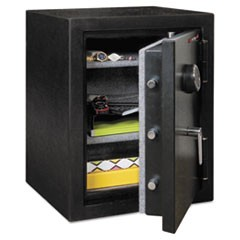 Half Hour Fire and Water Safe, 4.02 cu. ft., 21 3/5 x 19 x 27 1/4, Black