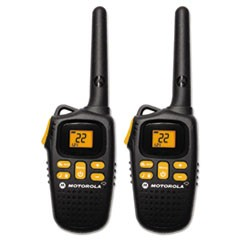Talkabout MD207R Two Way Radio, 1 Watt, GMRS/FRS, 22 Channels, 1 Pack
