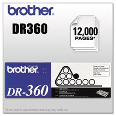 DR360 Drum Unit, 12000 Page-Yield