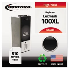 Remanufactured 14N0820 (100XL) High-Yield Ink, Black