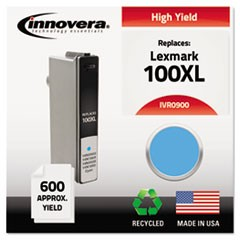 Remanufactured 14N0900 (100XL) High-Yield Ink, Cyan