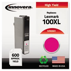 Remanufactured 14N0901 (100XL) High-Yield Ink, Magenta
