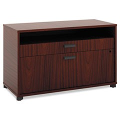 Manage Series File Center, Laminate, 36w x 16d x 22h, Chestnut
